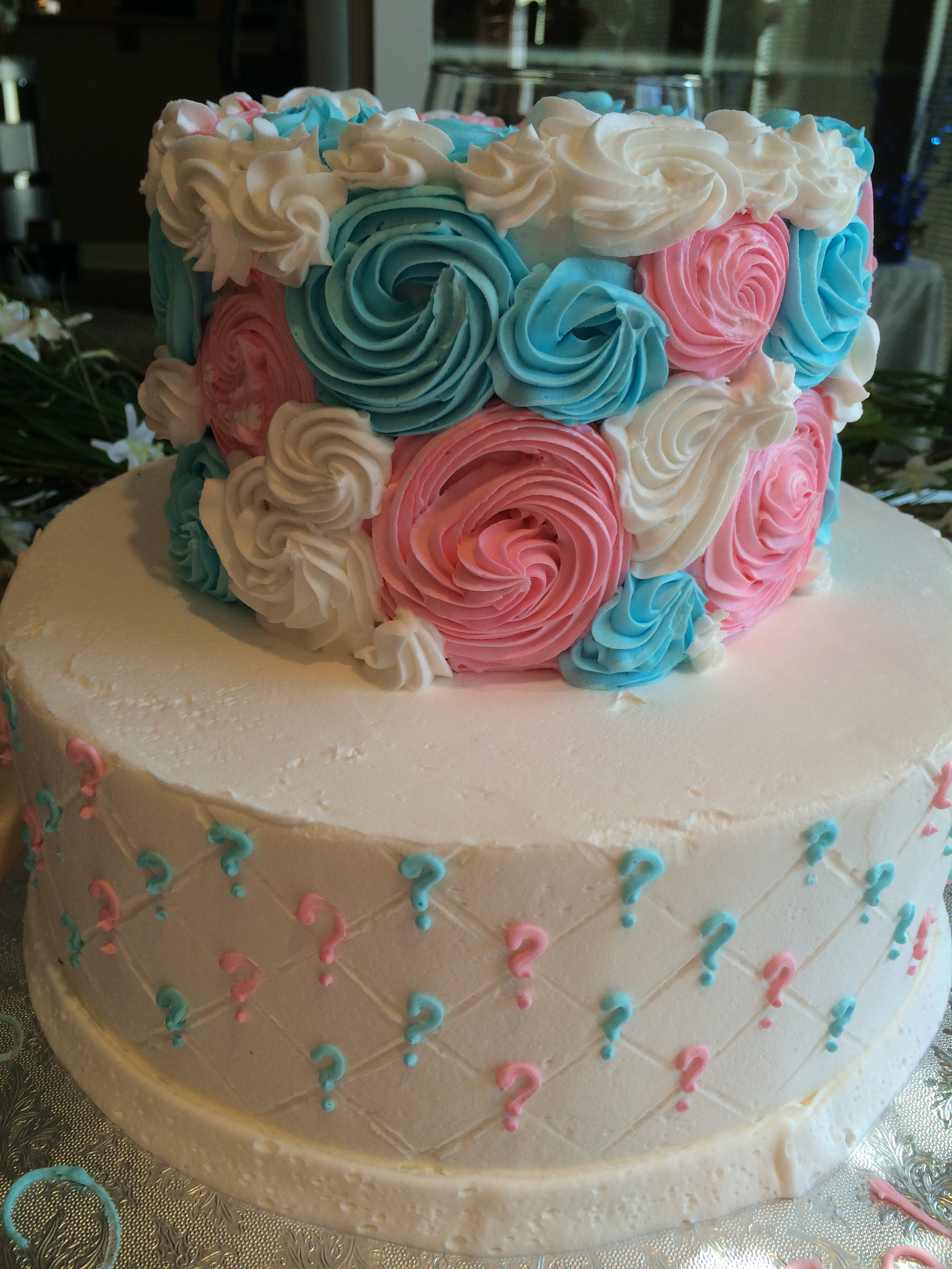 cake 5 - Gender Reveal Baby Shower