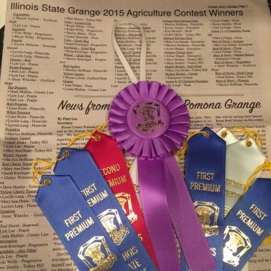 Grange awards